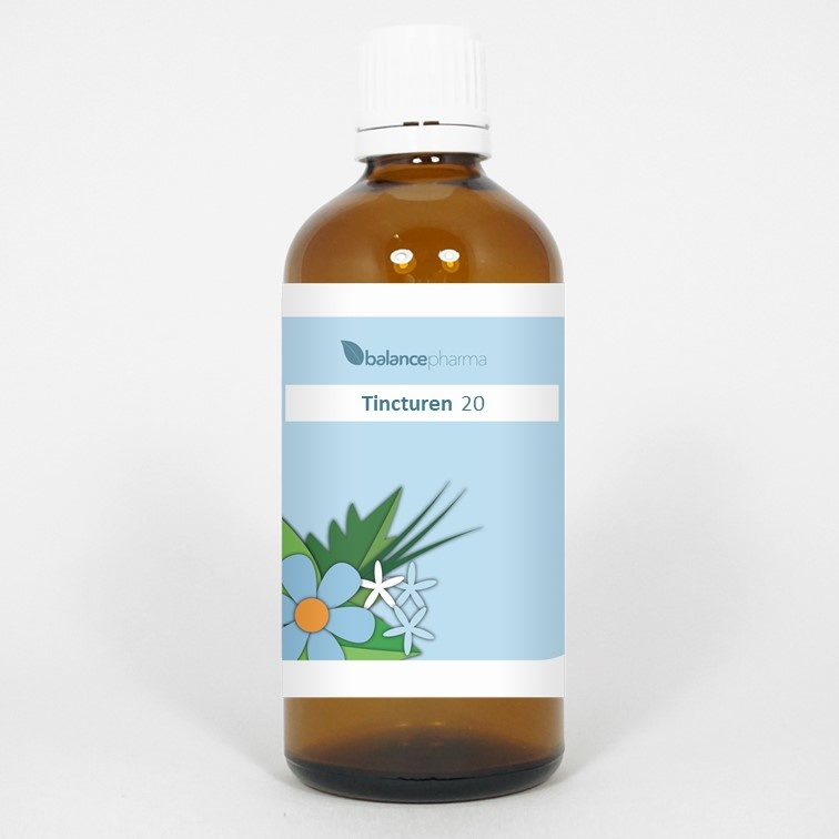 Tincturen Eleutherococcus senticosus 100 ml
