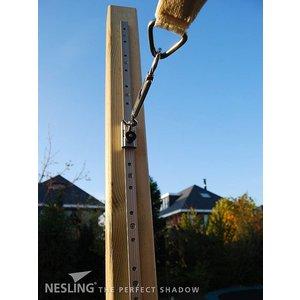 Nesling Rail met oog 1 m