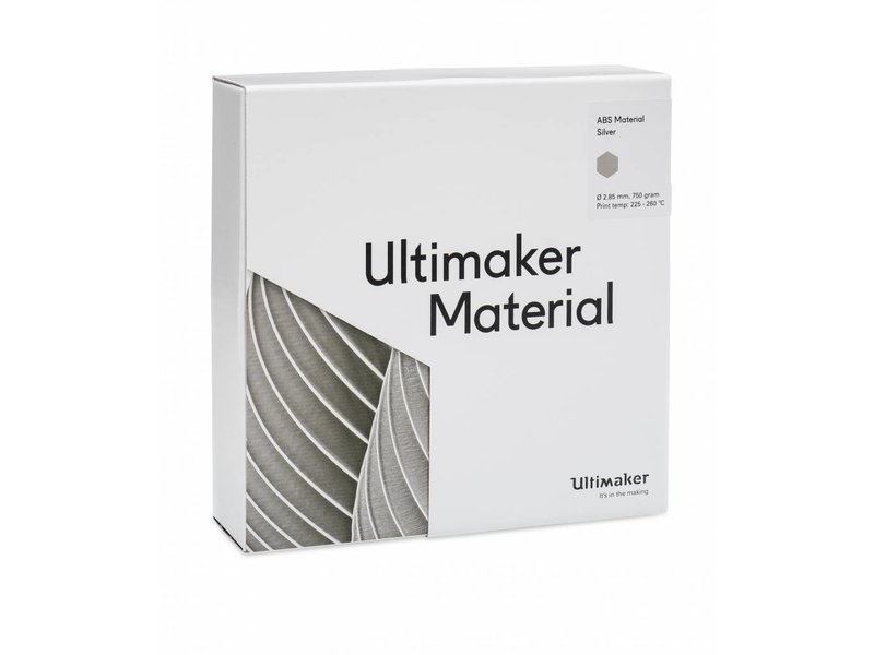 Ultimaker ABS Silver (NFC) (#1625)