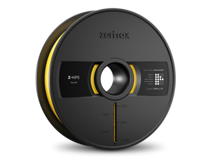 Zortrax Z-Hips Yellow 2kg M300