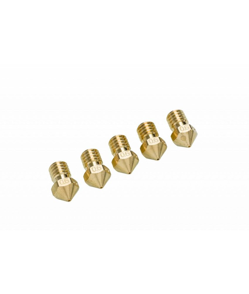 Ultimaker UM2+ Nozzle Pack 5x 0.6mm (#9526)