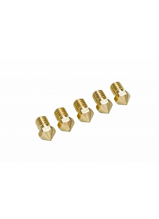Ultimaker UM2+ Nozzle Pack 5x 0.4mm (#9525)
