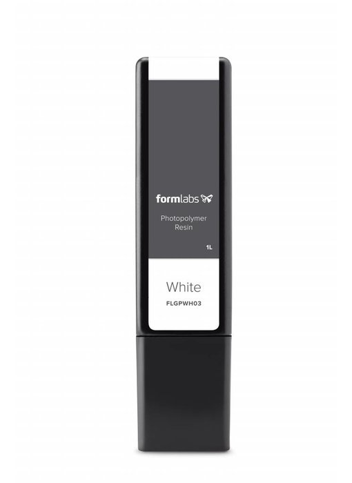 Formlabs White v4 Resin Cartridge 1L voor Form 2