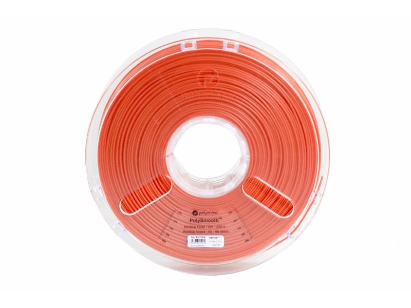 Polymaker PolySmooth 'Coral Red' - 750gr