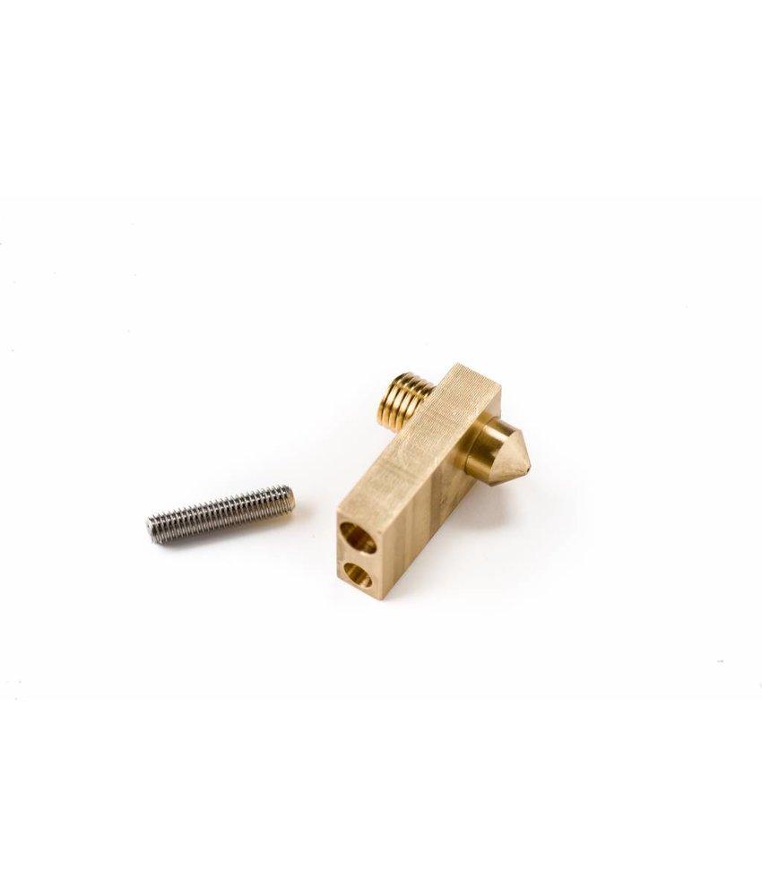 Ultimaker Integrated Nozzle heater block + set screw (#9430)