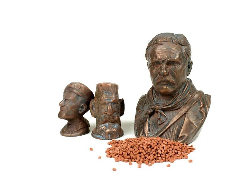 ColorFabb CopperFill 1500 gr