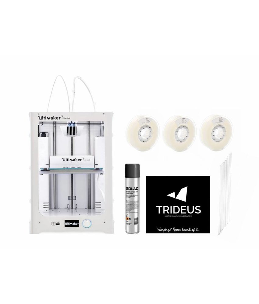 Ultimaker 3 Extended Starter Pack