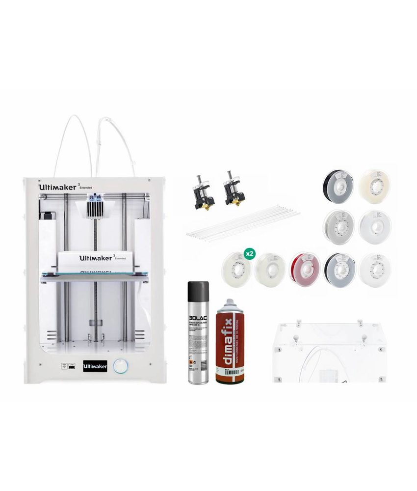 Ultimaker 3 Extended Engineering Pack