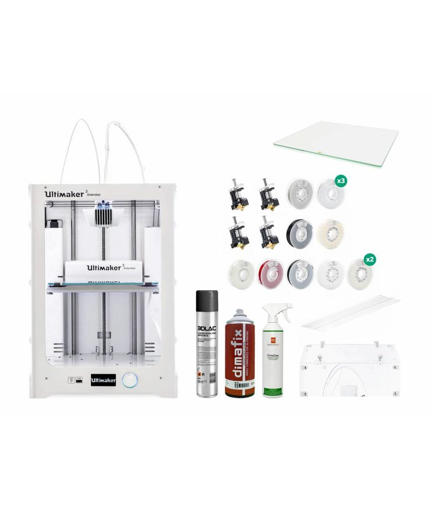Ultimaker 3 Extended Production Pack