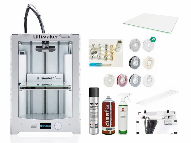 Ultimaker 2 Extended+ Production and Scanning Pack