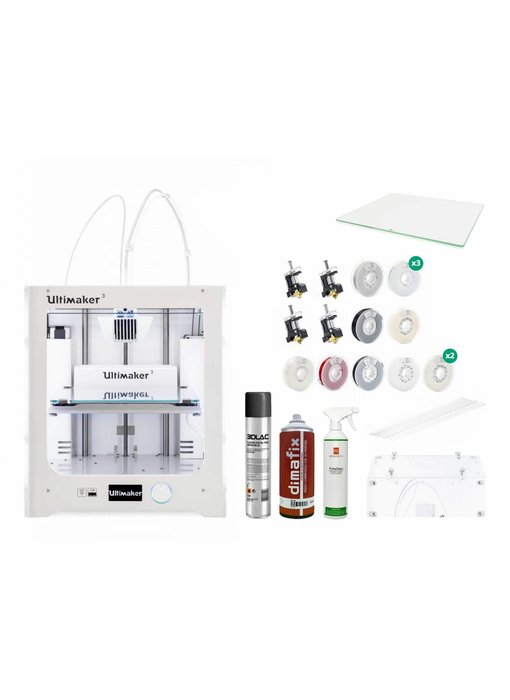 Ultimaker 3 Production and Scanning Pack