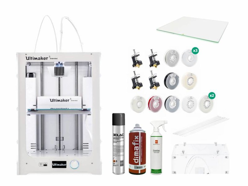 Ultimaker 3 Extended Production and Scanning Pack