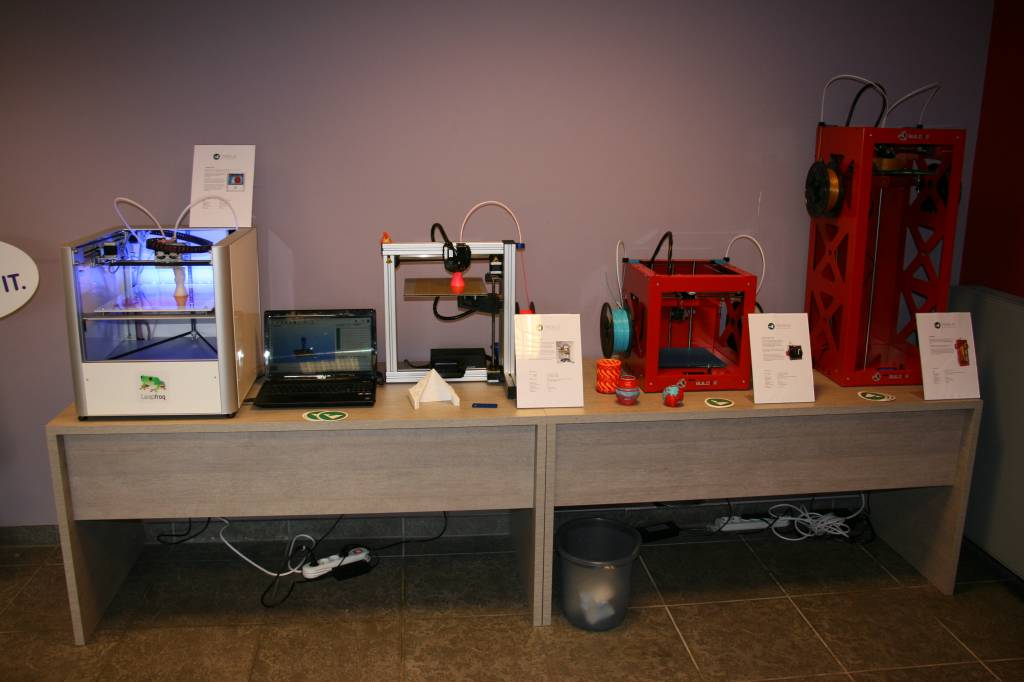 3D Printing for the Masses at Trideus.be