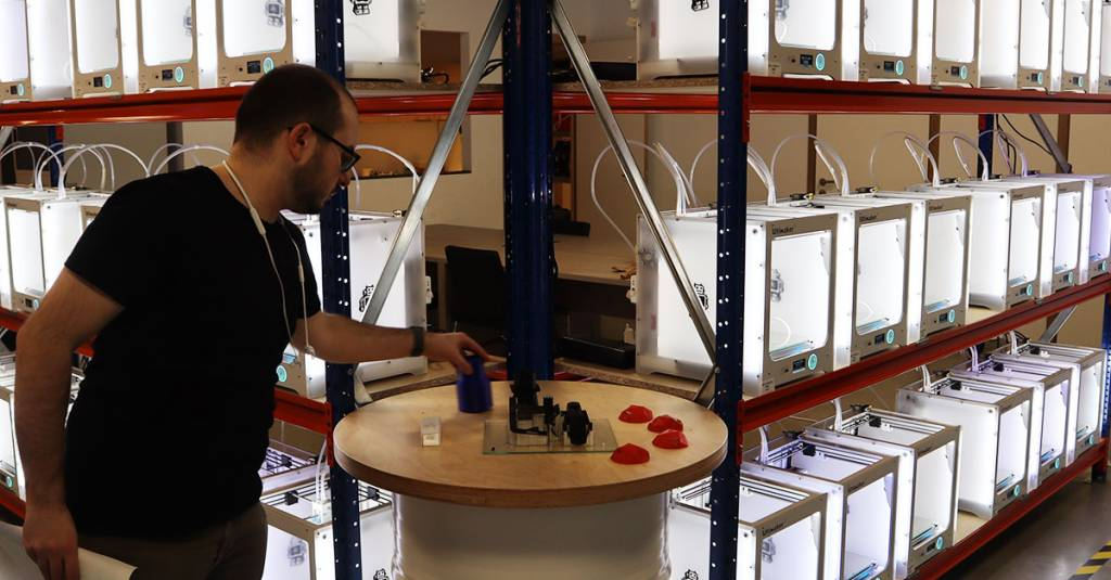 Trideus welcomes the largest Ultimaker print farm