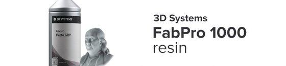 FabPro 1000 resins