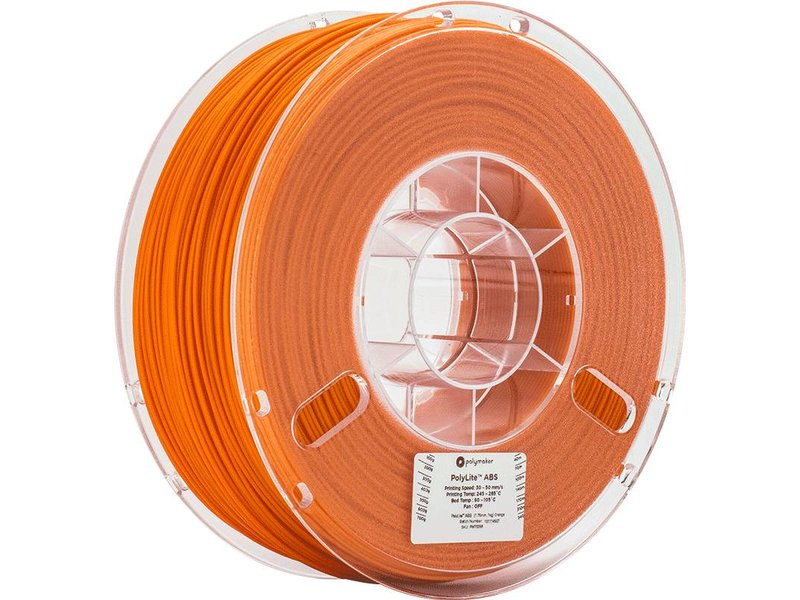 Polymaker PolyLite ABS Orange 1kg