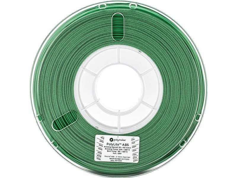 Polymaker PolyLite ABS Green 1kg