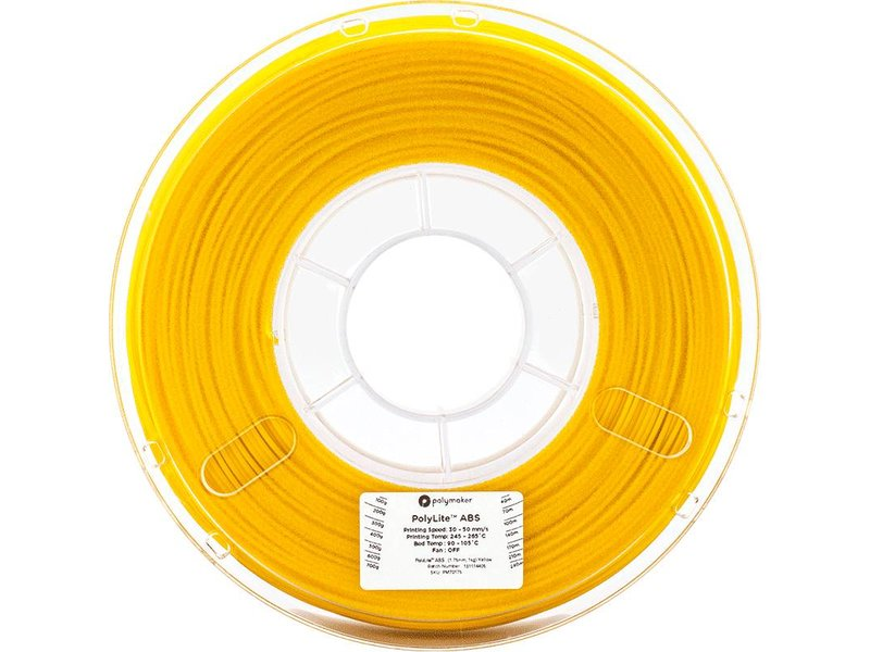 Polymaker PolyLite ABS Yellow 1kg