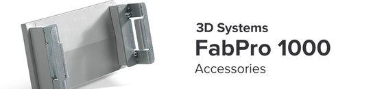 FabPro 1000 Accessoires