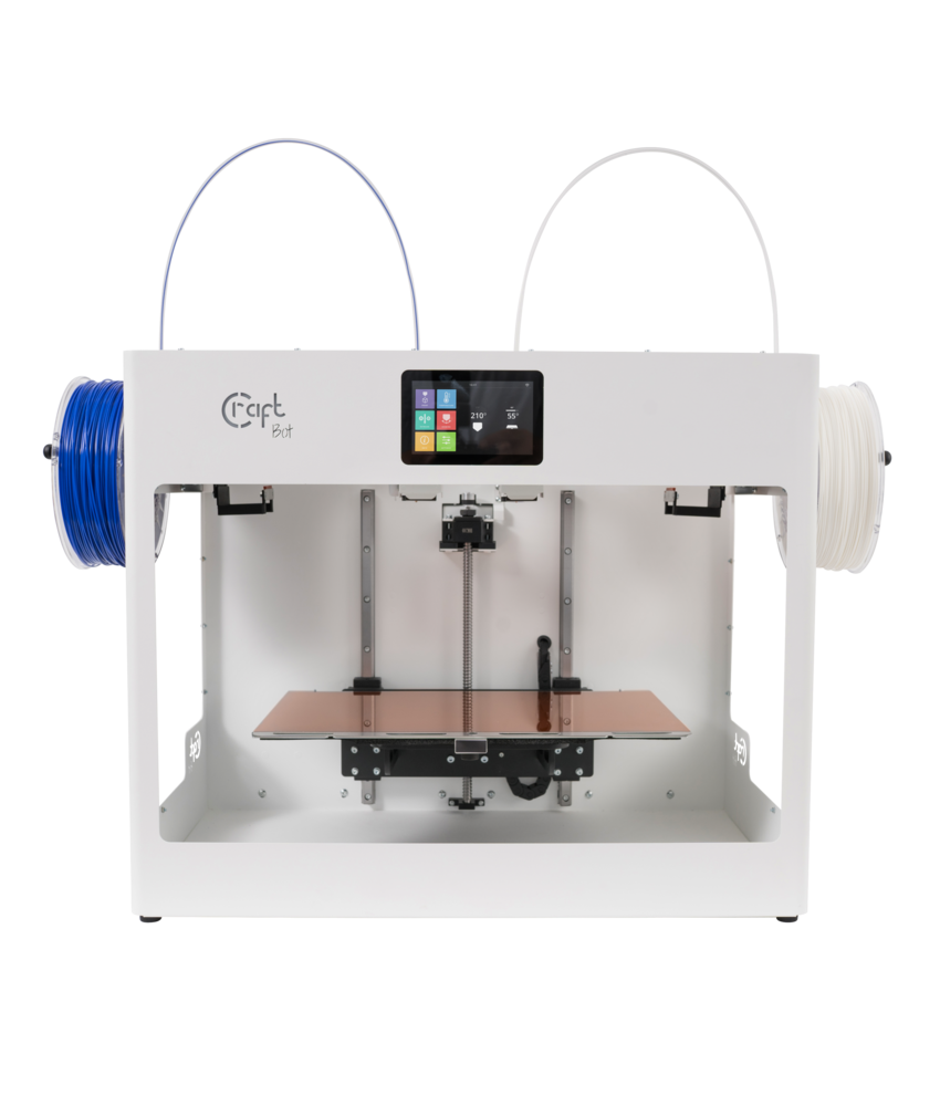 CraftBot Flow IDEX 3D printer