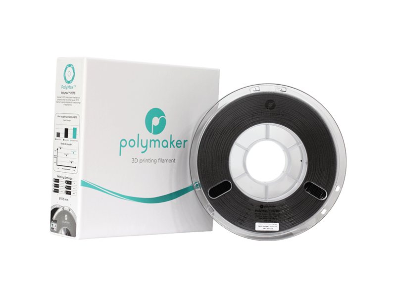 Polymaker PolyMax PETG True Black 750gr