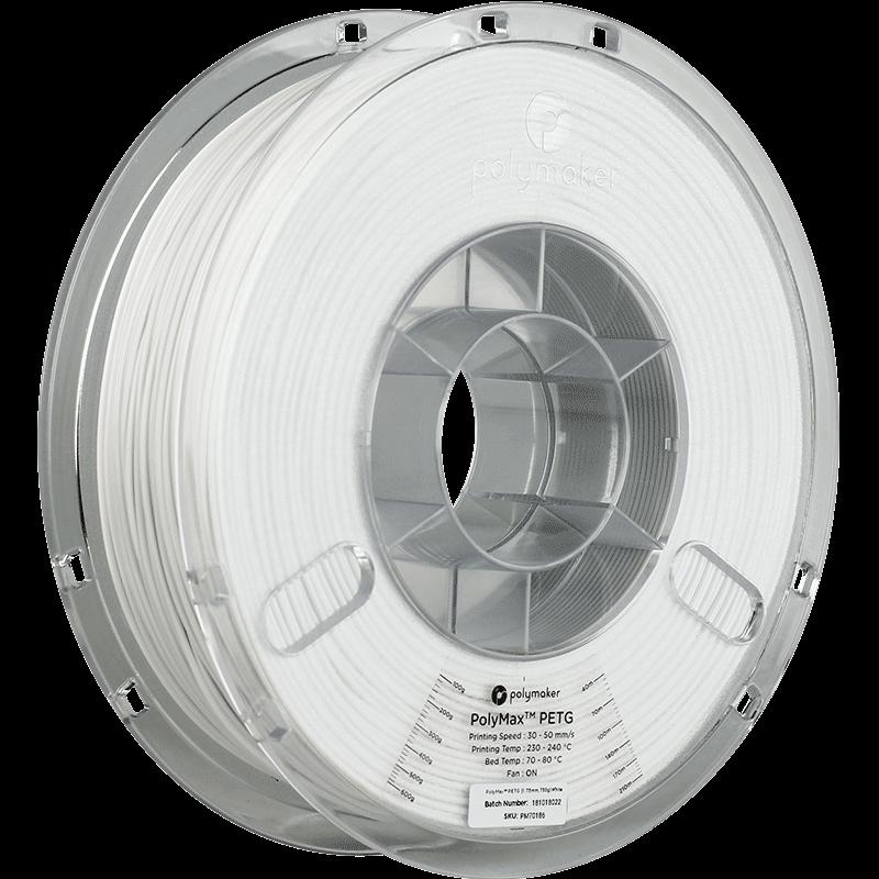 Polymaker PolyMax PETG True White 750gr