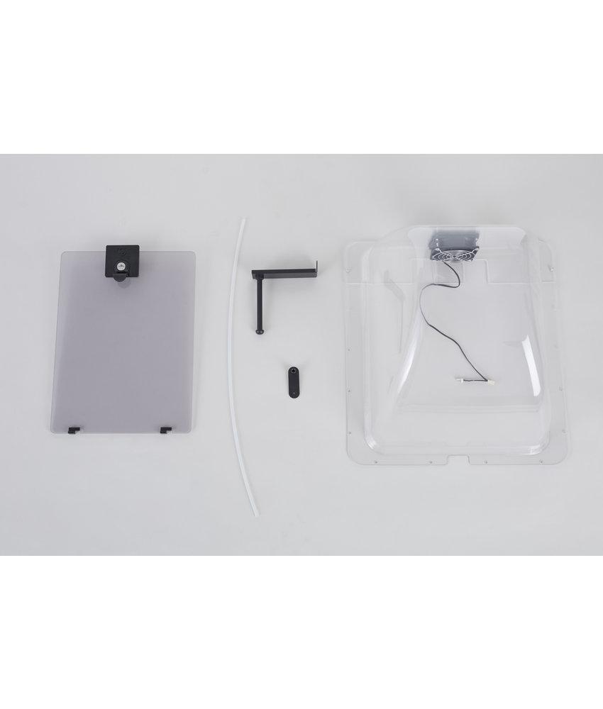 CraftBot Plexiglass door for CraftBot Plus