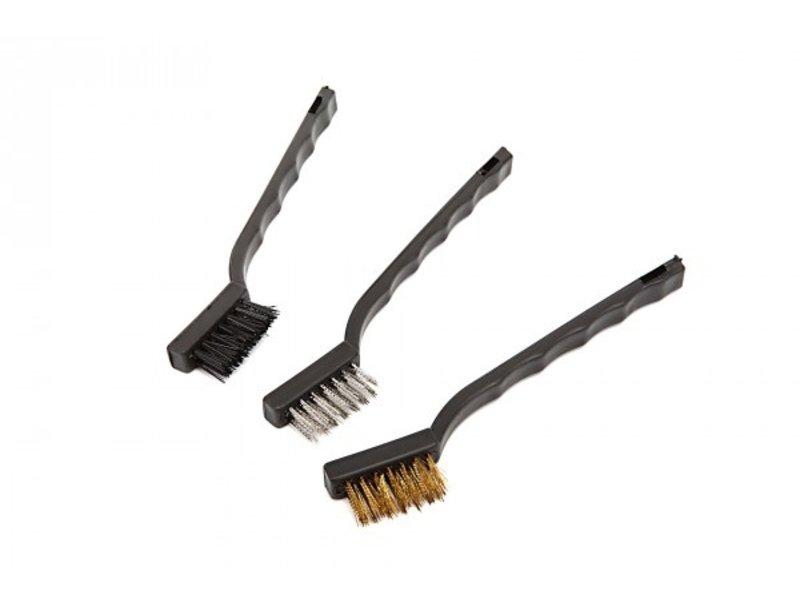Mini Steel Brush maintenance set (3pcs)