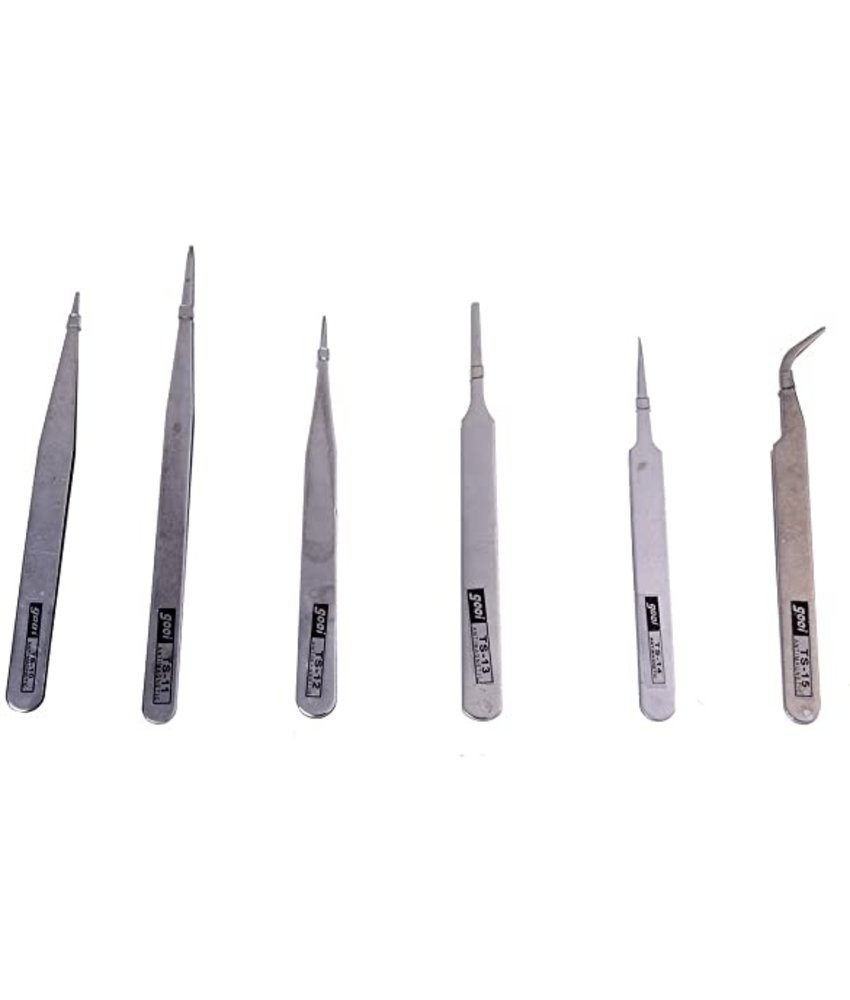 Tweezers (Set of 6 pcs)