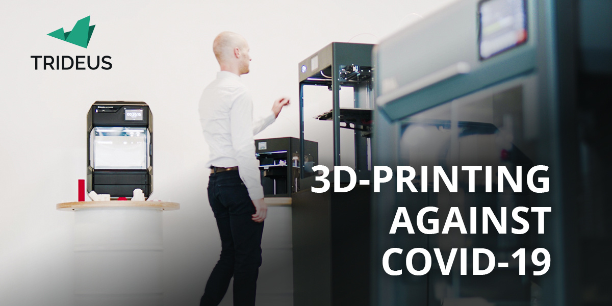 3D-printing against Covid-19: A toolkit by Trideus