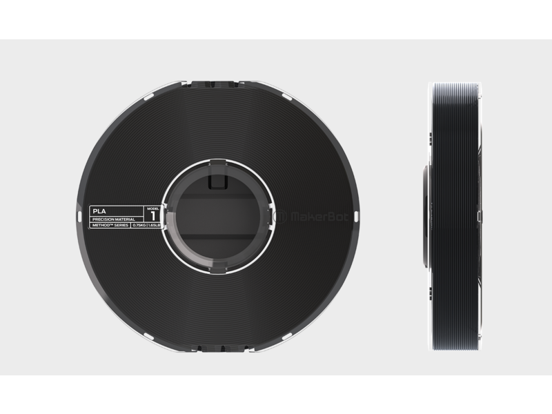 MakerBot Method PLA True Black 750gr