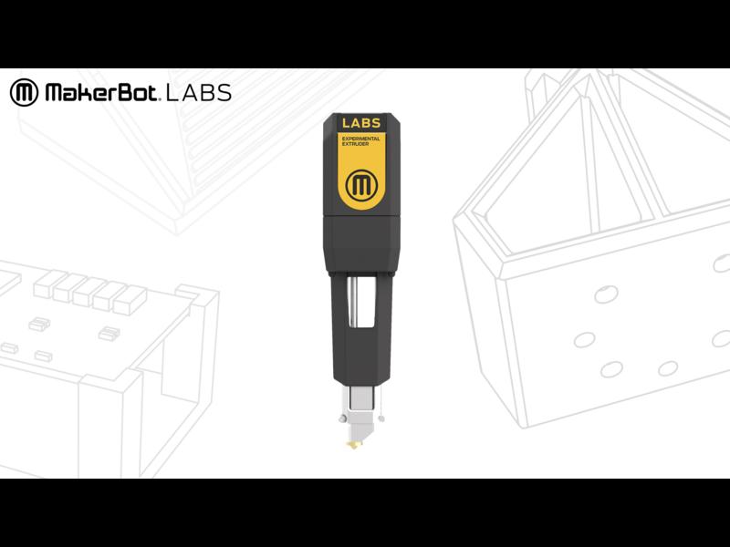 MakerBot MB LABS Gen2 Experimental Extruder