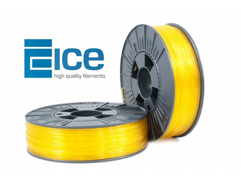 ICE Filaments ABS+ 'Transparent Young Yellow'