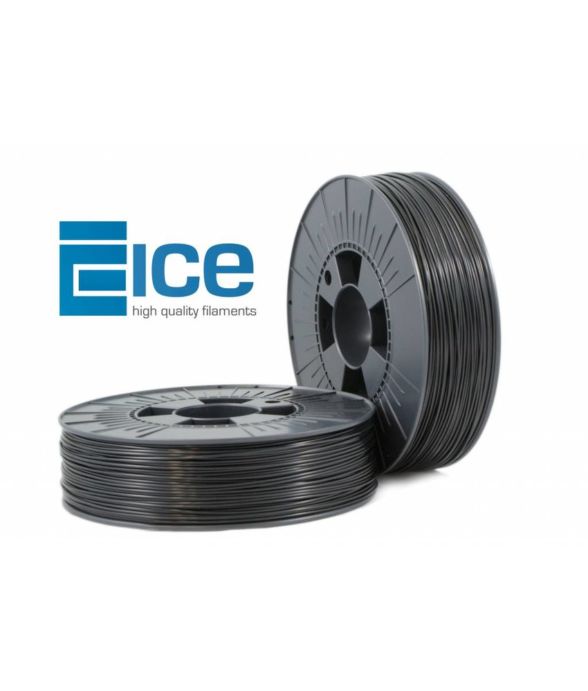ICE Filaments ABS+ 'Brave Black'