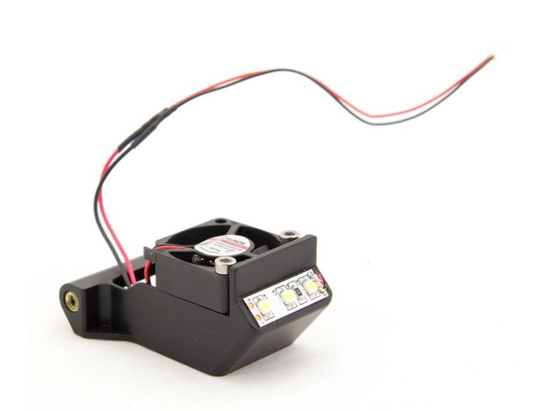 Felix Printers Fan cap assembly (front) incl. LED light and connector for c