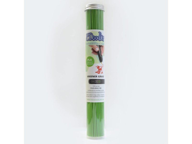 3Doodler Create Greener Grass PLA Tube