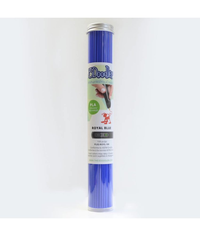 3Doodler Create Royal Blue PLA Tube