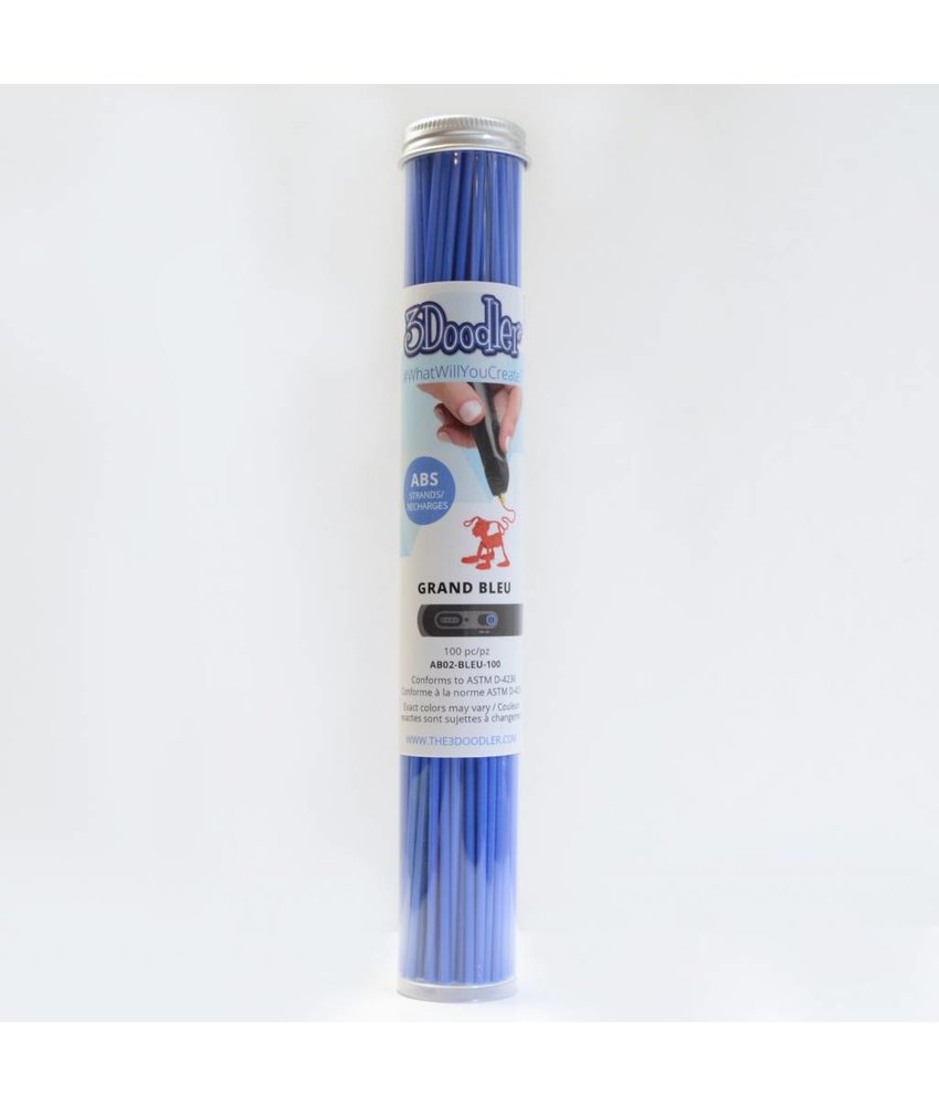 3Doodler Grand Blue ABS Tube