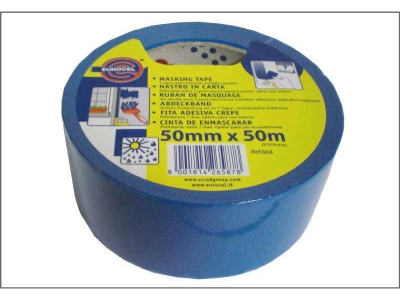Blauwe Eurocel schilderstape