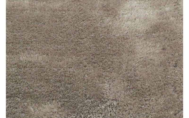 Ross 21 - Rond vloerkleed in grijze kleursamenstelling