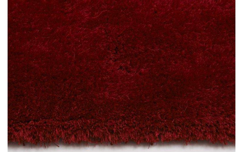 Ross 44 - Rond vloerkleed in rode kleursamenstelling