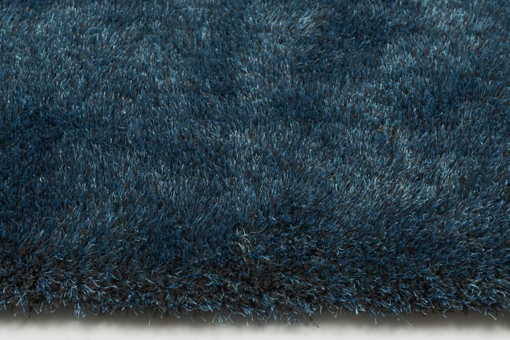 Tapijt Petrol Blauw : Rond hoogpolig vloerkleed in prachtig petrol floorpassion
