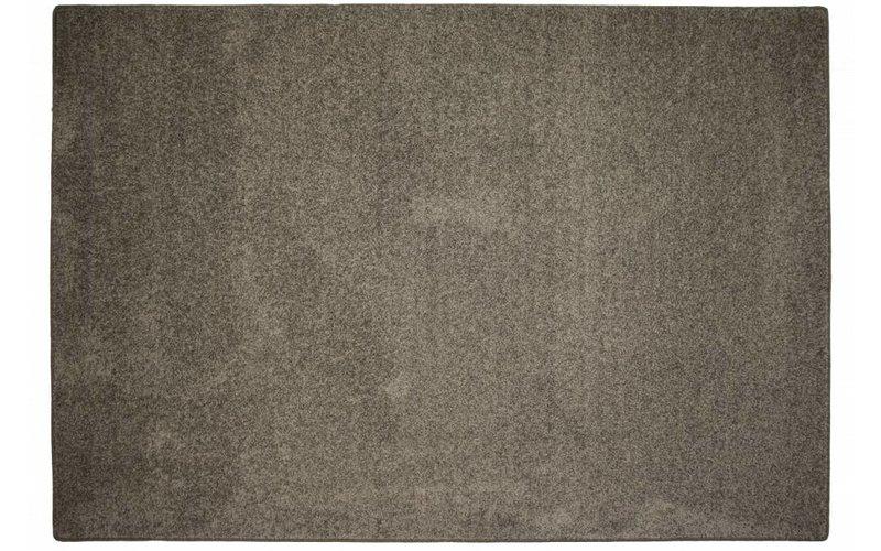 Tore 17 - Ijzersterk vloerkleed in Bruin/Grijze kleursamenstelling