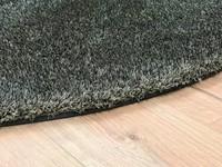 Ross 22 - Rond Hoogpolig vloerkleed in het grijs