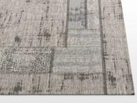 Carey 22 - Vintage vloerkleed in Grijs tinten