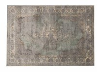 Aldo 21 - Vintage vloerkleed in Grijs tinten