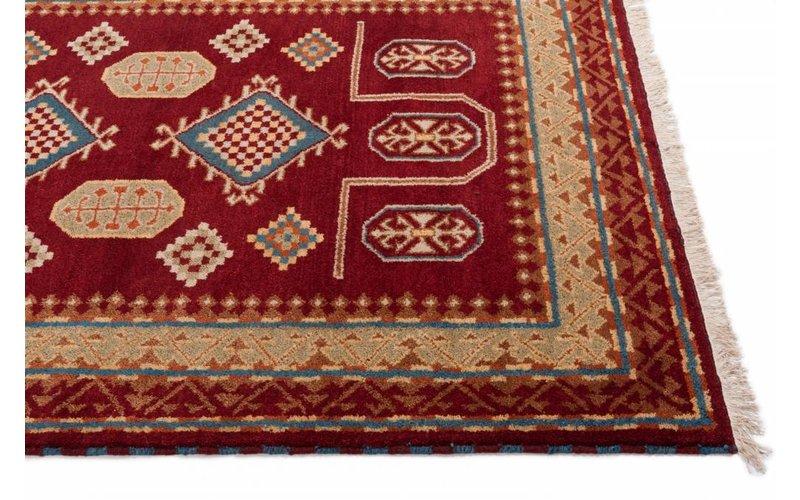Perzisch vloerkleed rood Karzak 45