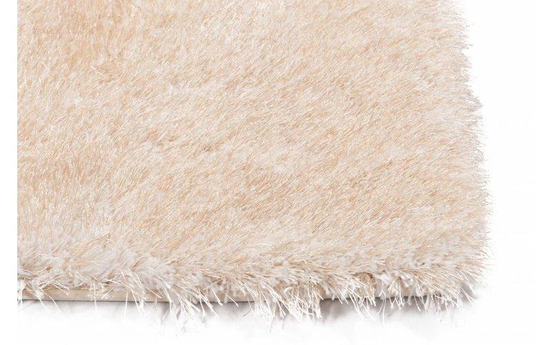 Chester 12 - Hoogpolige loper in beige kleur samenstelling