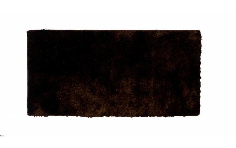 Reef 18 - Hoogpolige loper in donkerbruine kleursamenstelling