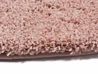 Liv 41 - Rond hoogpolig vloerkleed in prachtig Roze tinten.